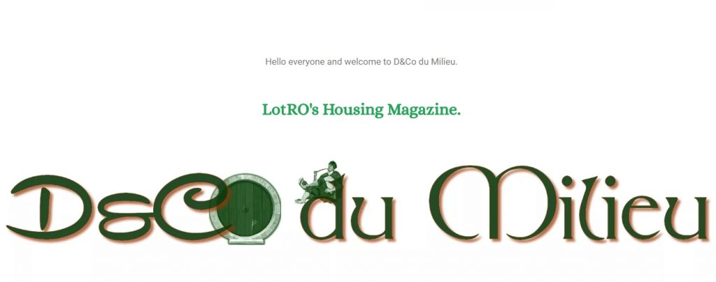 Lotro´s Housing Magazin